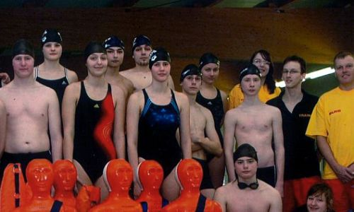 Support of the youth life-guard group, Leipzig