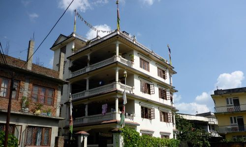 The Dolpo Hostel in 2014 Kathmandu, Nepal. Alpin Technik Leipzig pays the whole rent for 1 year. Founded in 2008, the Hostel enables children from poor regions to visit school in Khatmandu.