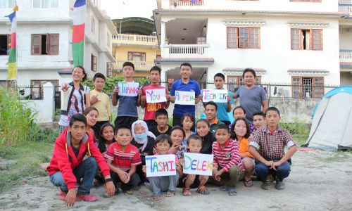 Support of the Dolpo Hostel in Kathmandu, Nepal. Alpin Technik Leipzig pays the whole rent for 1 year. Founded in 2008, the Hostel enables children from poor regions to visit school in Khatmandu.